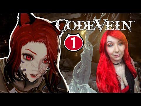 Anime Dark Souls! - Code Vein - Quick Look Gameplay Walkthrough Part 1