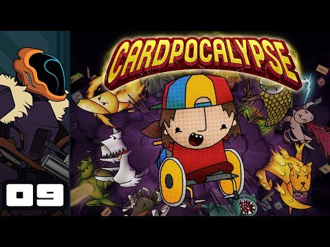 Let's Play Cardpocalypse - PC Gameplay Part 9 - Jokes For Time Travelers