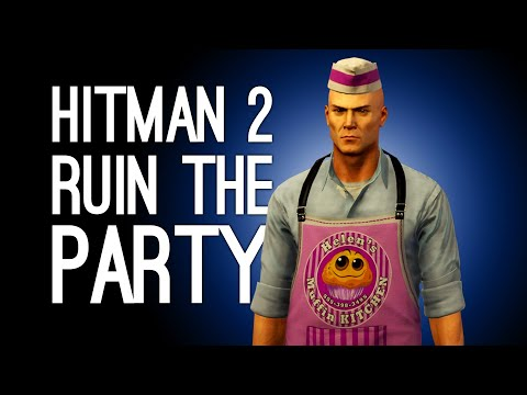 Hitman 2 Escalation: RUIN THE GARDEN PARTY! (Let's Play Hitman 2 The Covert Dispersal Escalation)