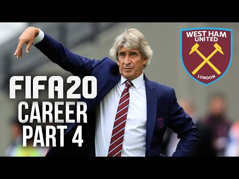 FIFA 20 CAREER MODE Gameplay Walkthrough Part 4 - BAD DAY AT THE OFFICE (West Ham)