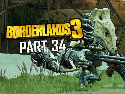 BORDERLANDS 3 Walkthrough Gameplay Part 34 - Rumble in the Jungle (Let's Play Commentary)