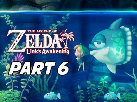The Legend of Zelda Link's Awakening Walkthrough Gameplay Part 6 - Manbo's Mambo
