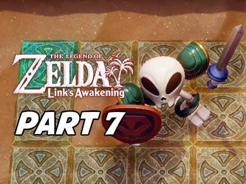 The Legend of Zelda Link's Awakening Walkthrough Gameplay Part 7 -