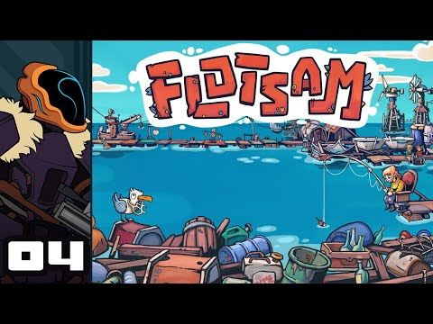 Let's Play Flotsam (Early Access) - PC Gameplay Part 4 - Dangerous Waters