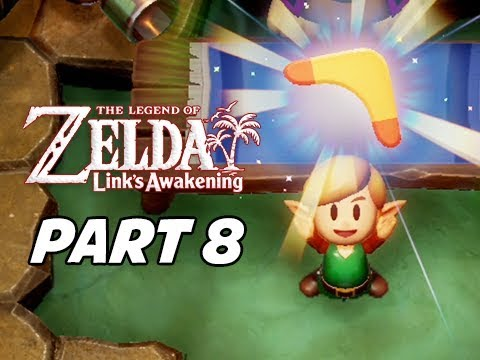 The Legend of Zelda Link's Awakening Walkthrough Gameplay Part 8 - Boomerang