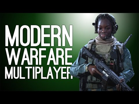 Call of Duty Modern Warfare Multiplayer Gameplay: SLIDE BOYZ! Let's Play CoD MW Gunfight Mode
