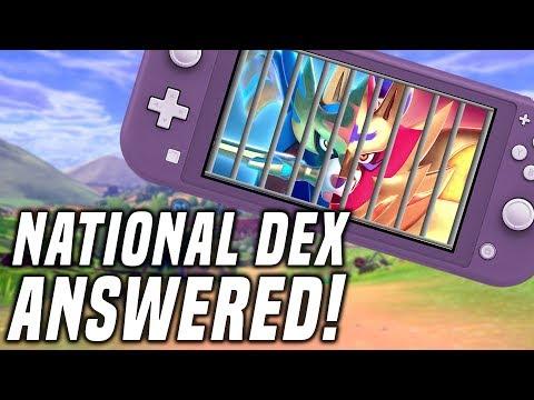 MASUDA FINAL ANSWER: National Dex, Gen 8 Pokedex Cuts in Pokemon Sword and Shield