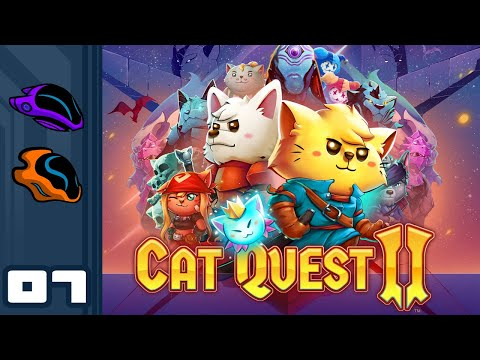 Let's Play Cat Quest 2 [Co-Op] - PC Gameplay Part 7 - Raw Determination