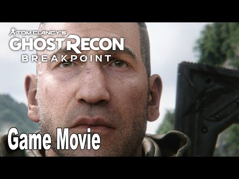 Ghost Recon Breakpoint - Game Movie All Cutscenes [HD 1080P]