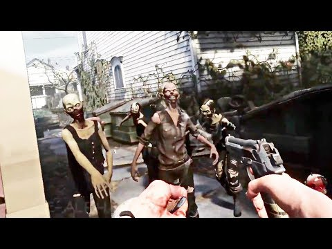 THE WALKING DEAD Saints & Sinners - EXCLUSIVE Gameplay Demo