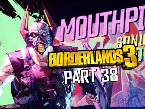 BOSS MOUTHPIECE V2 - BORDERLANDS 3 Walkthrough Gameplay Part 38 (Let's Play Commentary)