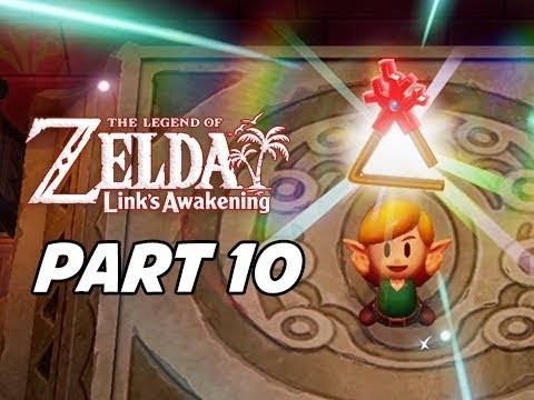 The Legend of Zelda Link's Awakening Walkthrough Gameplay Part 10 - Coral Triangle
