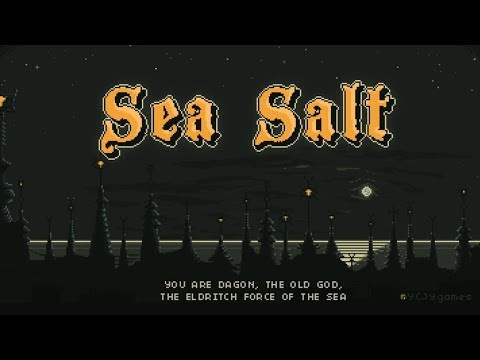 Sea Salt REVIEW! Lovecraftian strategy game where you play as EVIL!