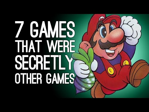 7 Games That Were Secretly Another Game in Disguise