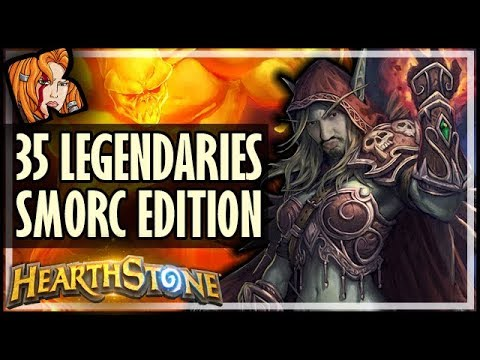 35 LEGENDARY DECKS SMORC EDITION! - Saviors of Uldum Hearthstone