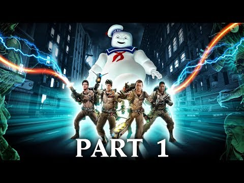 GHOSTBUSTERS THE VIDEO GAME REMASTERED Gameplay Walkthrough Part 1 - INTRO