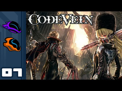 Let's Play Code Vein [Co-Op] - PC Gameplay Part 7 - A Reckless Disregard for Gravity