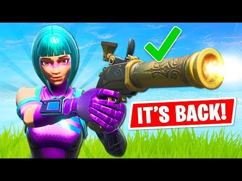 NEW UPDATE!! Flint-Knock Pistol is BACK!! (Fortnite Battle Royale)