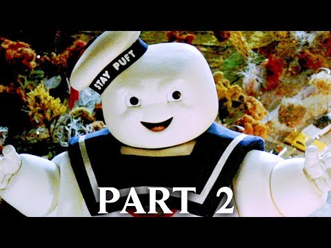 GHOSTBUSTERS THE VIDEO GAME REMASTERED Gameplay Walkthrough Part 2 - MARSHMALLOW