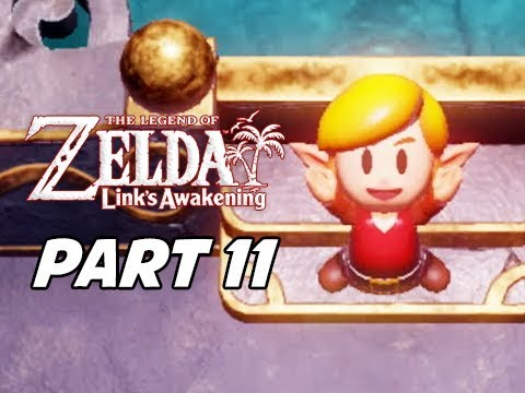 The Legend of Zelda Link's Awakening Walkthrough Gameplay Part 11 - Red Tunic