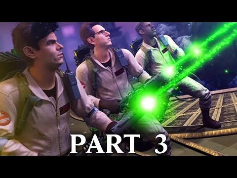 GHOSTBUSTERS THE VIDEO GAME REMASTERED Gameplay Walkthrough Part 3 - LIBRARY