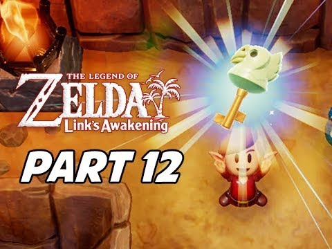 The Legend of Zelda Link's Awakening Walkthrough Gameplay Part 12 - Bird Key
