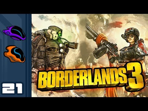 Let's Play Borderlands 3 [Co-Op] - PC Gameplay Part 21 - Corporate Turncoats