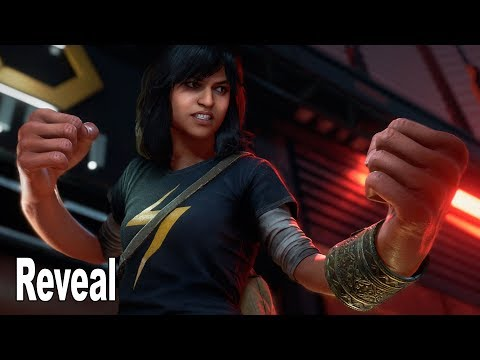 Marvel's Avengers - Ms. Marvel (Kamala Khan Embiggen) Reveal Trailer NYCC 2019 [4K]