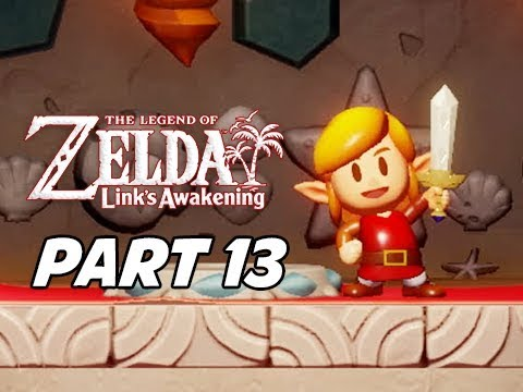 The Legend of Zelda Link's Awakening Walkthrough Gameplay Part 13 - Koholint Sword