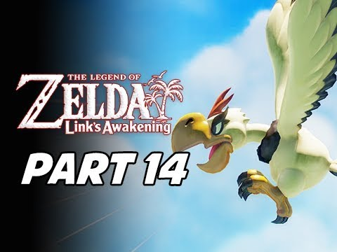 The Legend of Zelda Link's Awakening Walkthrough Gameplay Part 14 - Evil Bird