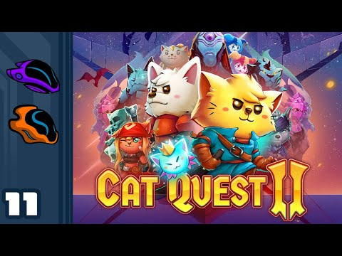 Let's Play Cat Quest 2 [Co-Op] - PC Gameplay Part 11 - Deferred Vengeance!
