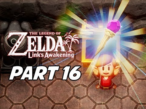 The Legend of Zelda Link's Awakening Walkthrough Gameplay Part 16 - Magic Rod