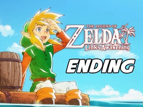 FINAL BOSS + ENDING The Legend of Zelda Link's Awakening Walkthrough