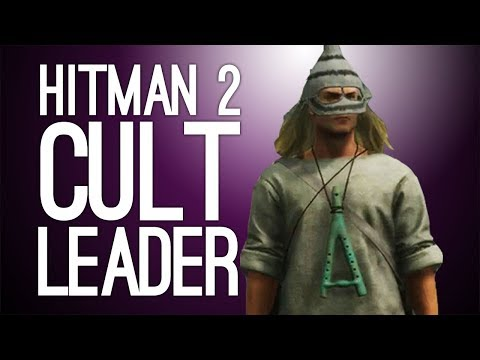 Hitman 2 Escalation: WANT TO JOIN A CULT? (Let's Play Hitman 2 The Merle Revelation Escalation)