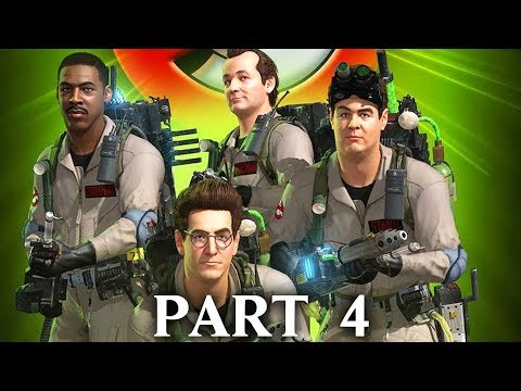 GHOSTBUSTERS THE VIDEO GAME REMASTERED Gameplay Walkthrough Part 4 -  MUSEUM