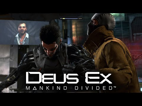 Deus Ex: Mankind Divided Aggressive Stealth Gameplay #1 - Cyberpunk John Wick (ARC Territory)