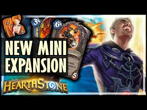 NEW MINI-EXPANSION IS LIVE! - Saviors of Uldum Hearthstone