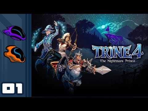 Let's Play Trine 4 [Co-Op] - PC Gameplay Part 1 - You Must Gather Your Party Before Venturing Forth!
