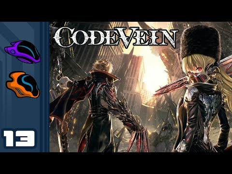 Let's Play Code Vein [Co-Op] - PC Gameplay Part 13 - Is That A Leg?
