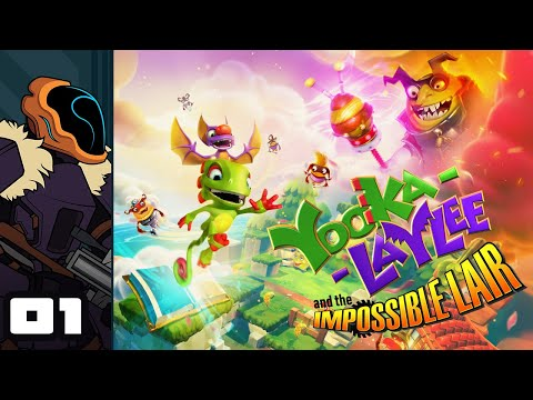 Let's Play Yooka-Laylee and the Impossible Lair - PC Gameplay Part 1 - My Head Is Yooge!