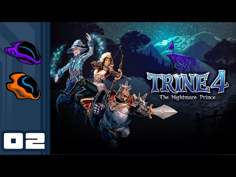 Let's Play Trine 4: The Nightmare Prince [Co-Op] - PC Gameplay Part 2 - Chaotic Cooperation