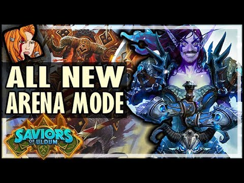 COMPLETELY NEW ARENA MODE?! - Saviors of Uldum Hearthstone