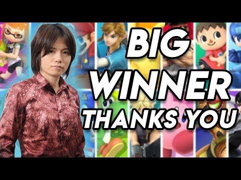 Sakurai Thanks You! Super Smash Bros. Ultimate Wins Big