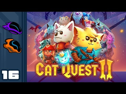 Let's Play Cat Quest 2 [Co-Op] - PC Gameplay Part 16 - Woodchipper Strats