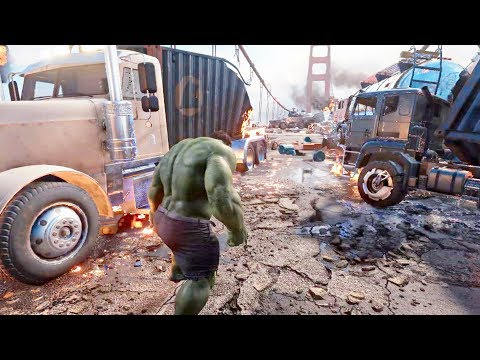 AVENGERS - Gameplay Walkthrough [GTA 6 like Open World Superhero Game 2020]