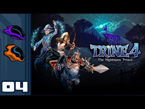Let's Play Trine 4: The Nightmare Prince [Co-Op] - PC Gameplay Part 4 - Gorgeous Gardens