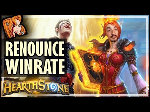 HOW TO RENOUNCE WINRATE! - Saviors of Uldum Hearthstone