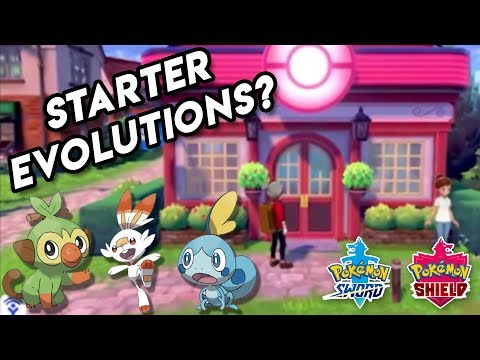 New Look at First Town & Starter Evolutions Info - Pokemon Sword and Shield Update