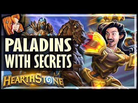 PALADINS HAVE SECRETS NOW! - Saviors of Uldum Hearthstone