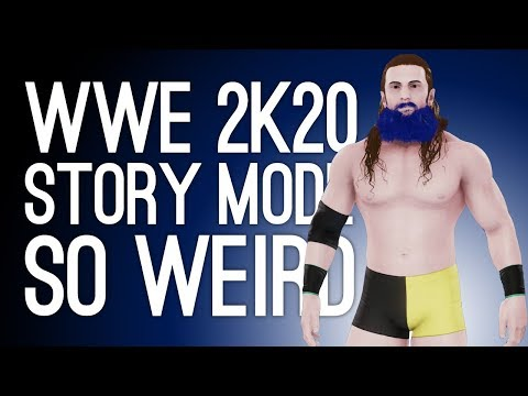 WWE 2K20 Story Mode is So Weird (Let's Play WWE 2K20 Career Mode)